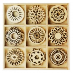 Dekoracje drewniane Titanum 414458