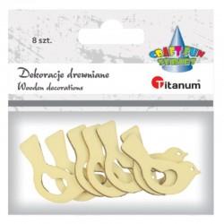 Dekoracje drewniane Titanum 395978