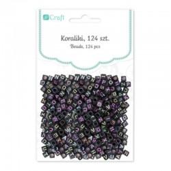 """Koraliki """"Litery neonowe"""" DP Craft GRKO-022"""