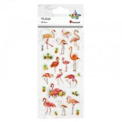 "Naklejki wypukłe ""Flamingi"" Titanum 389866"
