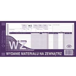 361-2 WZ wydanie materiałów na zewnątrz M&P