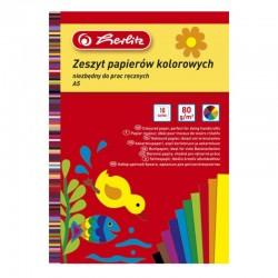 Papier kolorowy A-5/10k Herlitz
