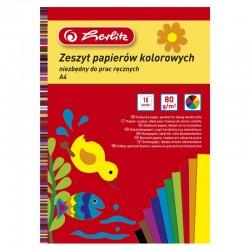 Papier kolorowy A-4/10k Herlitz