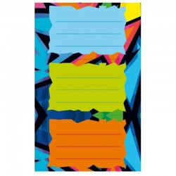 """Naklejki na zeszyty """"Neon Art"""" Herlitz"""