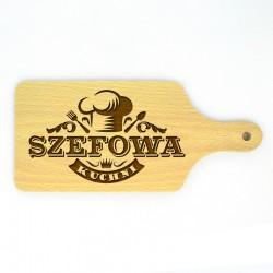 "Deska do krojenia ""Szefowa Kuchni"""