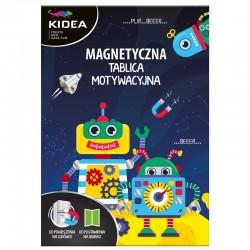 """Magnetyczna tablica motywacyjna """"Roboty"""" Kidea"""