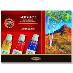 """Koh-I-Noor """"Acrylic"""" farby akrylowe w tubkach 6"""