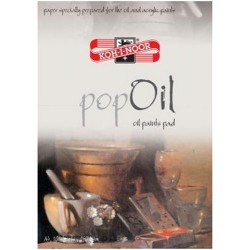 """Koh-I-Noor blok malarski A-4/10 """"Pop-Oil"""""""