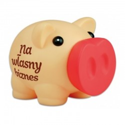 "Skarbonka Piggy ""Własny Biznes"""