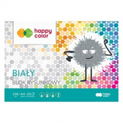 Blok rysunkowy A-4/20 Happy Color