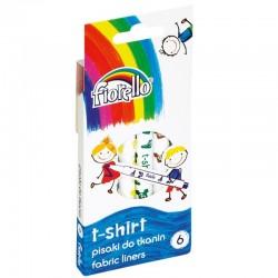 "Fiorello ""T-Shirt"" pisaki do tkanin 6"