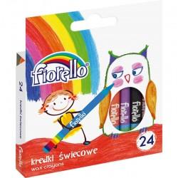 Kredki świecowe Fiorello 24