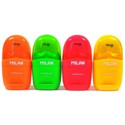 "Milan ""Capsule Fluo"" gumko-temperówka"