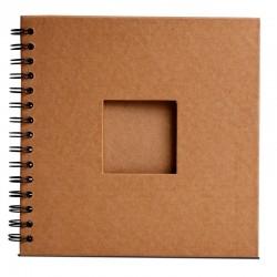Album na spirali z okienkiem Eco Craft 203x203