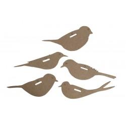 """Kształty tekturowe """"Birds"""" Eco Craft"""