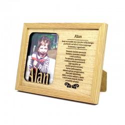 "Ramka na zdjęcia ""Alan"""