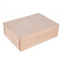 Pudełko drewniane do decoupage 13x13x6