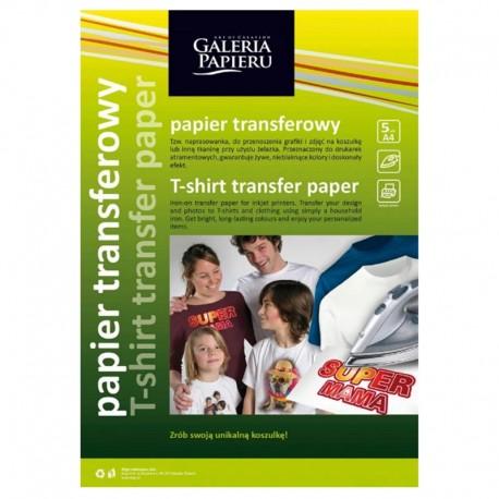 Papier transferowy do jasnych tkanin A-4