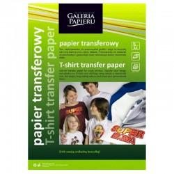 Papier transferowy do ciemnych tkanin A-4