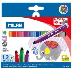 "Milan ""Maxi Tip"" flamastry 12"