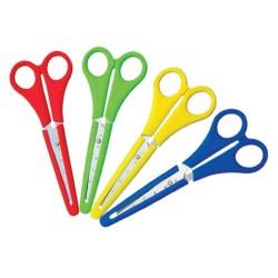 Milan nożyczki szkolne z zabezpieczeniem