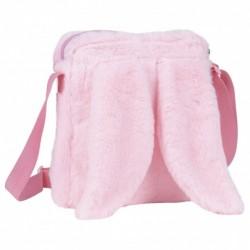 Torebka pluszowa z uszami różowa Derform