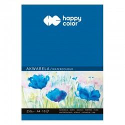 """Blok malarski """"Akwarela"""" A-4/10 Happy Color"""