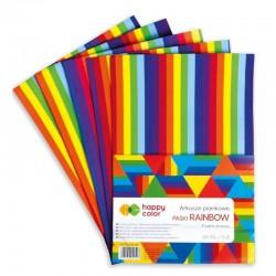 "Arkusze piankowe ""Paski Rainbow"" Happy Color"