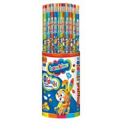 Bambino ołówek z gumką