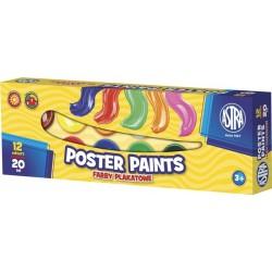 Farby plakatowe Astra 12x20 ml