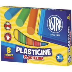 Plastelina szkolna Astra 8