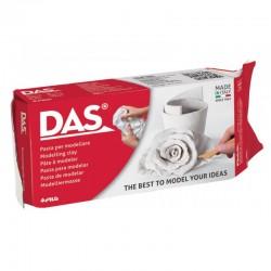 Glina modelarska samoutwardzalna biała Das 500 g