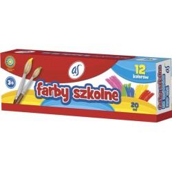 Farby szkolne As 12x20 ml