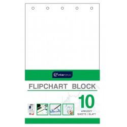 Blok do flipchartów gładki 10 Interdruk