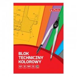 Blok techniczny kolorowy Herlitz