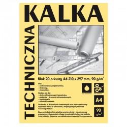 Kalka techniczna A-4/20k Koh-I-Noor