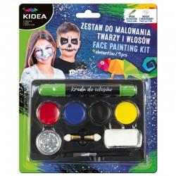 Zestaw do malowania twarzy 9 Kidea