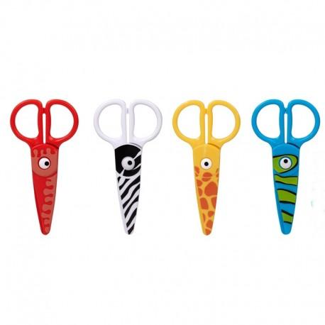 """Nożyczki plastikowe """"Zwierzątka"""" Strigo"""