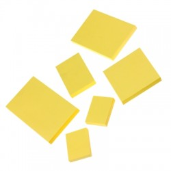 Notes samoprzylepny żółty 50x75
