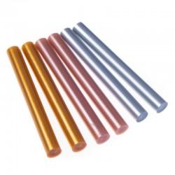 Wkłady klejowe metaliczne 11mm DP Craft DPPK-016