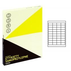 Grand etykiety samoprzylepne białe 48,5x25,4 mm