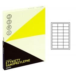 Grand etykiety samoprzylepne białe 64,6x33,8 mm