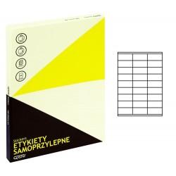 Grand etykiety samoprzylepne białe 70x32 mm