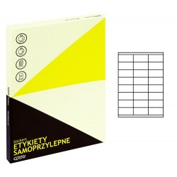 Grand etykiety samoprzylepne białe 70x35 mm