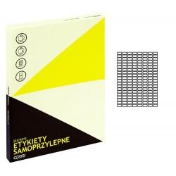 Grand etykiety samoprzylepne białe 22x12 mm