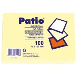 Patio notes samoprzylepny 75x100