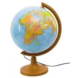 Globus fizyczno-polityczny 320 podświetlany