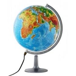 Globus fizyczny 320 podświetlany