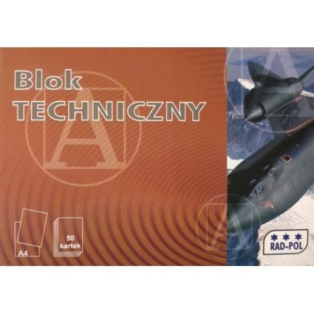 Blok techniczny A-4/50k