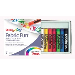 """Pentel """"Fabric Fun"""" pastele do tkanin 7"""